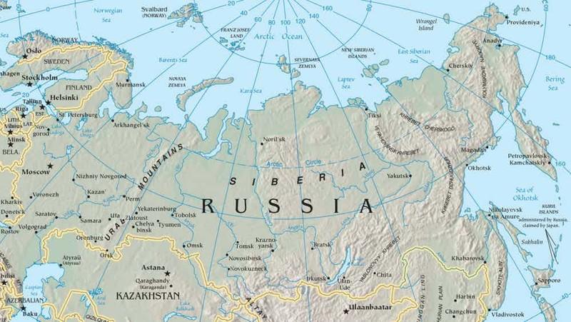 15. Сибирь охватывает большую часть территории России сибирь, факт