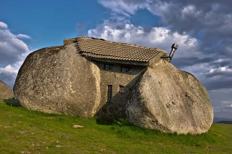 7. Каменный дом, Португалия дом, жилье, опасные места, строительство