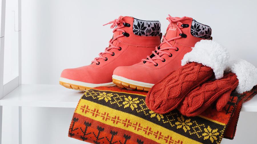 Освежаем зимнюю обувь