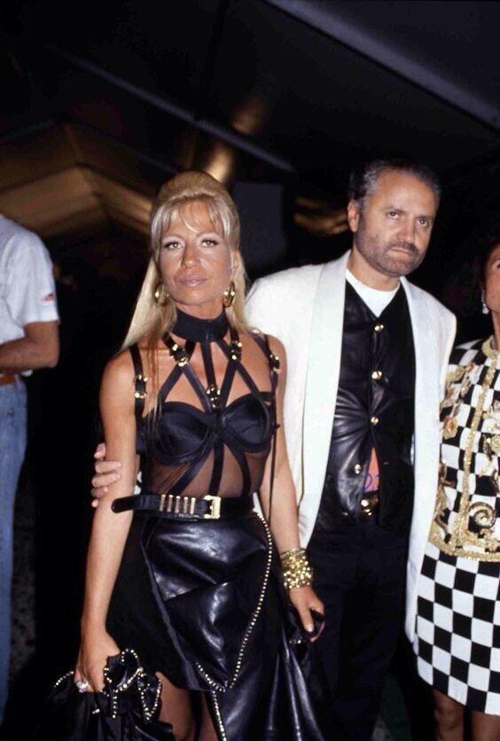 9. Донателла и Джанни Версаче в 1992 году архив, исторические фото, фото, фото из прошлого