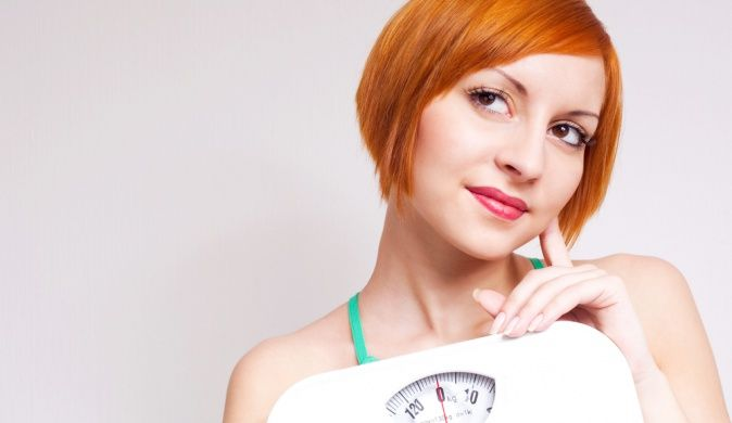 похудение, весы