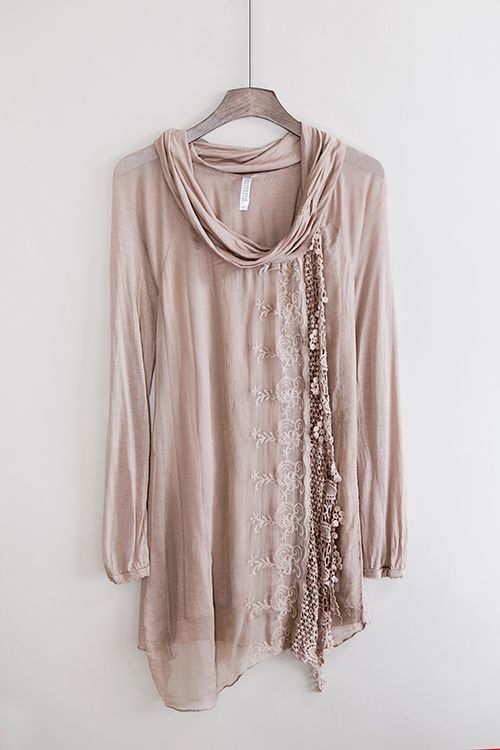 comfy and cute tunic top:
