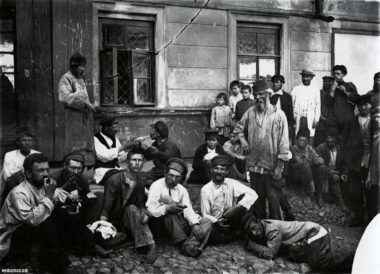 О питании крестьян до революции