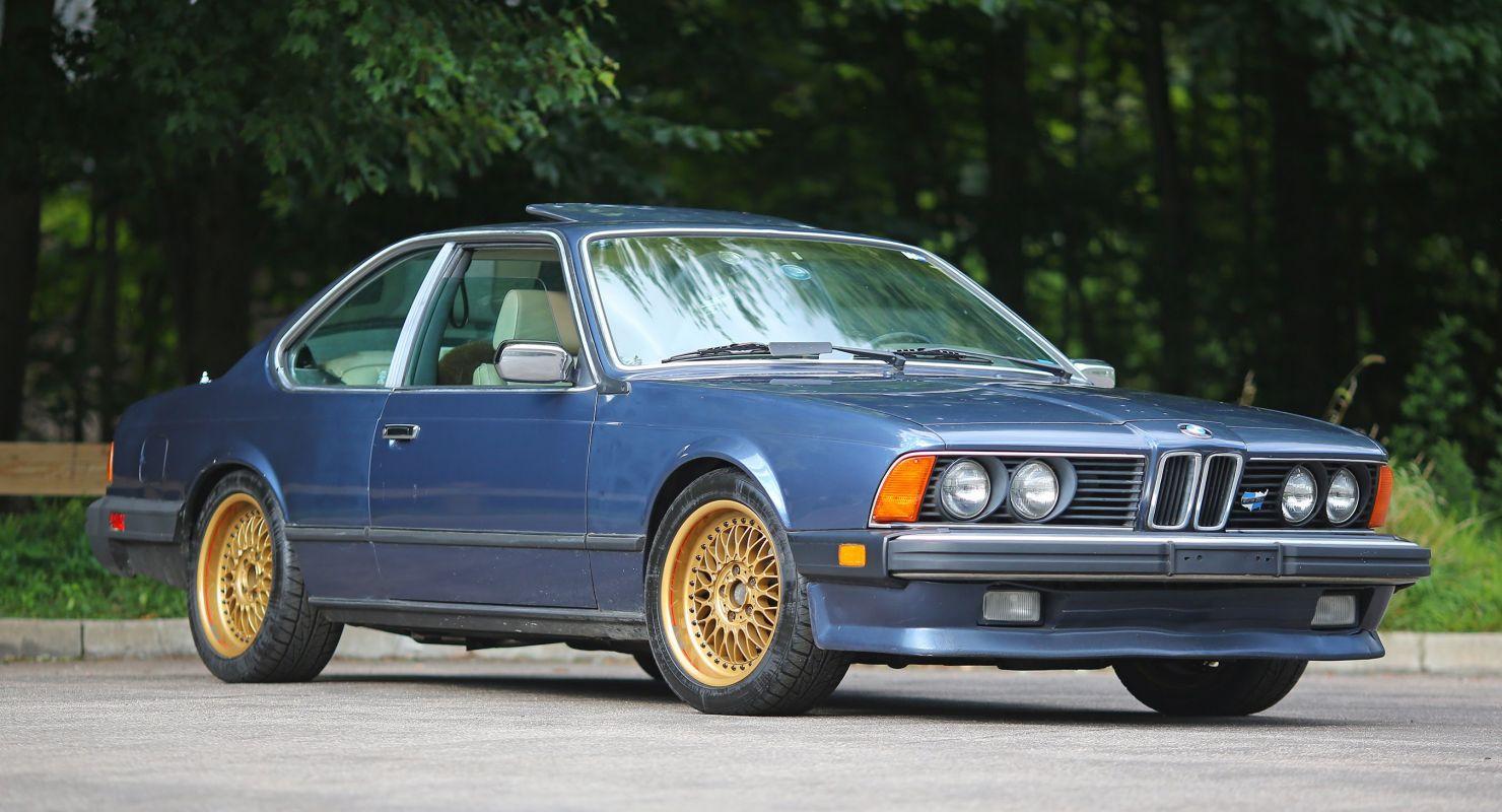BMW 635 CSi 1985 года после 35 лет в гараже Автомобили