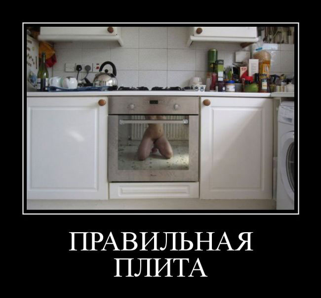 защита демотиватор на кухне четырех закадычных