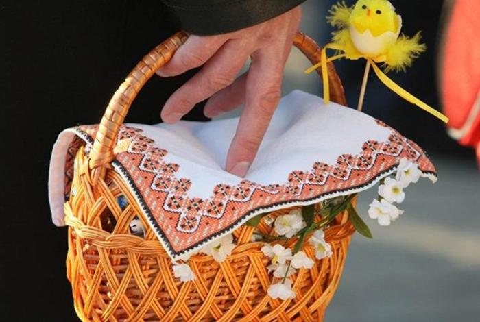 Пасхальное полотенце: каким должно быть и что на нём изображать