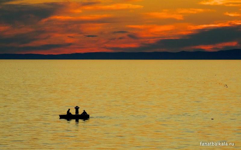 Байкальские закаты