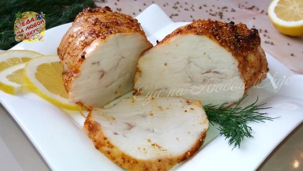 Сочная Пастрома из куриной грудки