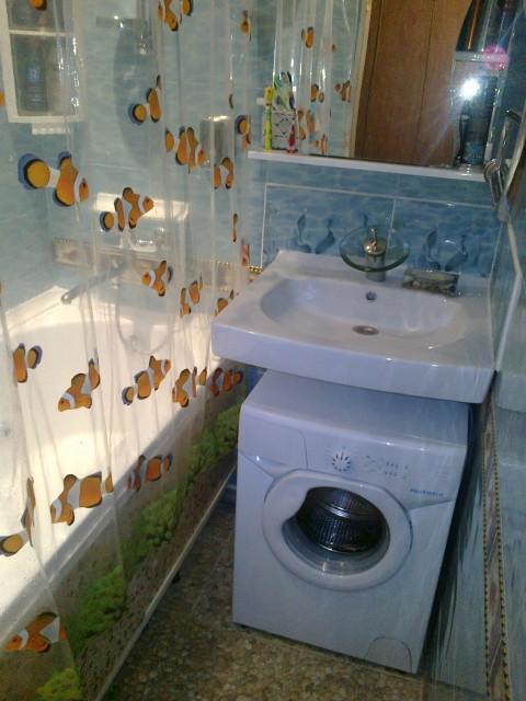 дизайн ванной комнаты фото 4 кв м с унитазом и со стиральной машиной #10