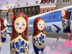 В Эстонии появилась скандальная реклама о российских туристах