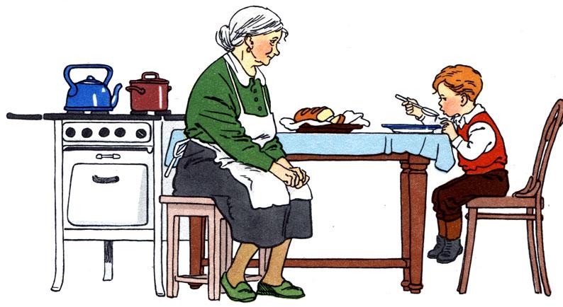 Конфликт поколений, или Бабушка знает лучше!