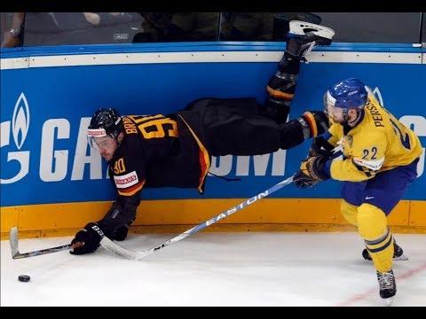 Германия - Швеция 4 - 3 хоккей 2018 Олимпиада Пхенчан