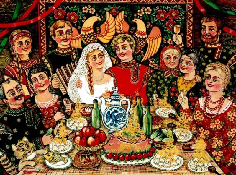 Алкогольные традиции на Руси (история обычаев). 9 загадок «Сикстинской мадонны»