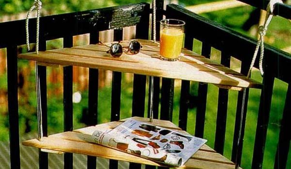 Несколько практичных и интересных идей для маленького балкона