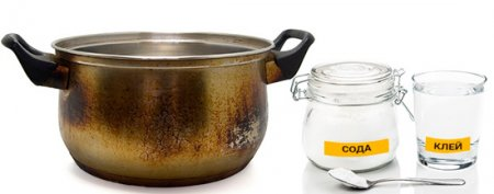 Как легко очистить пригоревшую кастрюлю