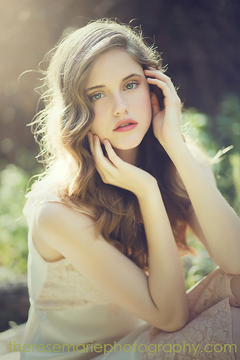 Романтичные  фешн-фото Эмили Сото