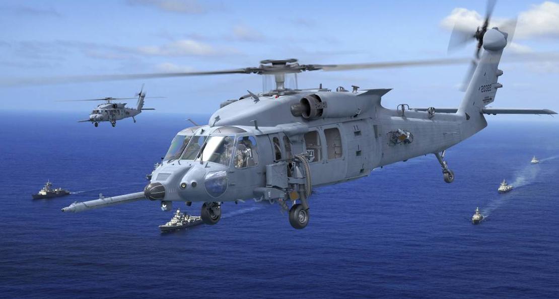 Военные США получили вертолеты Jolly Green II для спасательных операций ввс