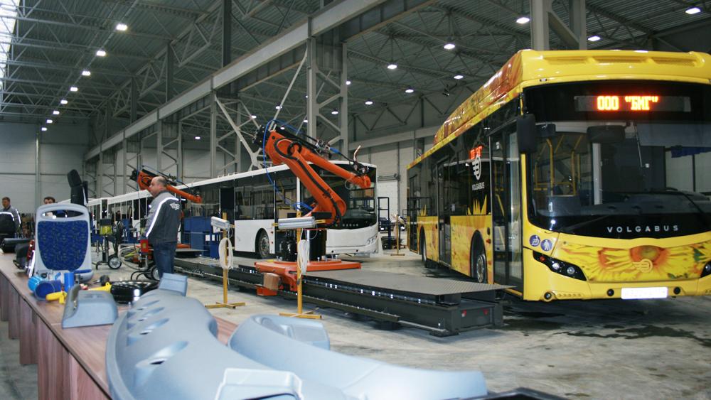 В России остановился один из крупнейших автобусных заводов коронавирус,производство,россияне,экономика