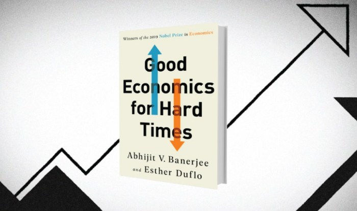 «Хорошая экономика для трудных времен», Абхиджит Банерджи и Эстер Дюфло. / Фото: www.gatesnotes.com