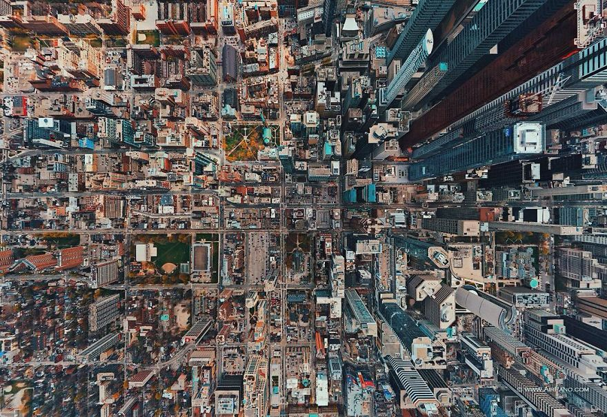 25 фото о том, какими наши города может видеть Бог