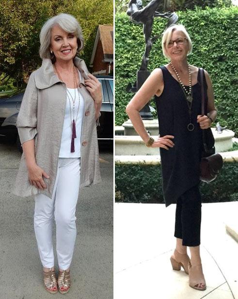 Модная одежда для женщин в возрасте плюс: лето и ранняя осень 2017