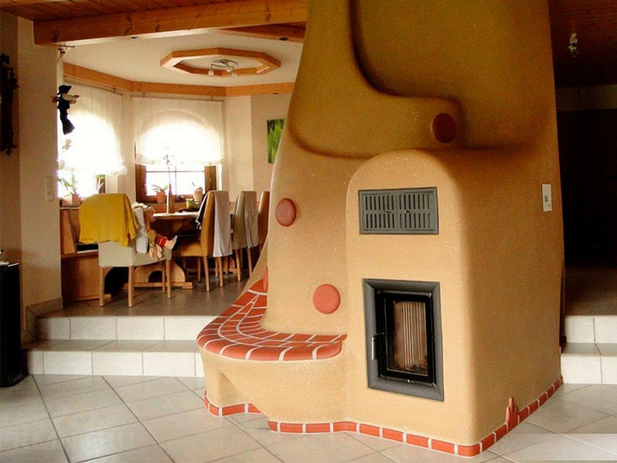 русская печь в современном доме фото хорошо