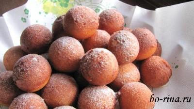 Quarkbällchen — творожные пончики