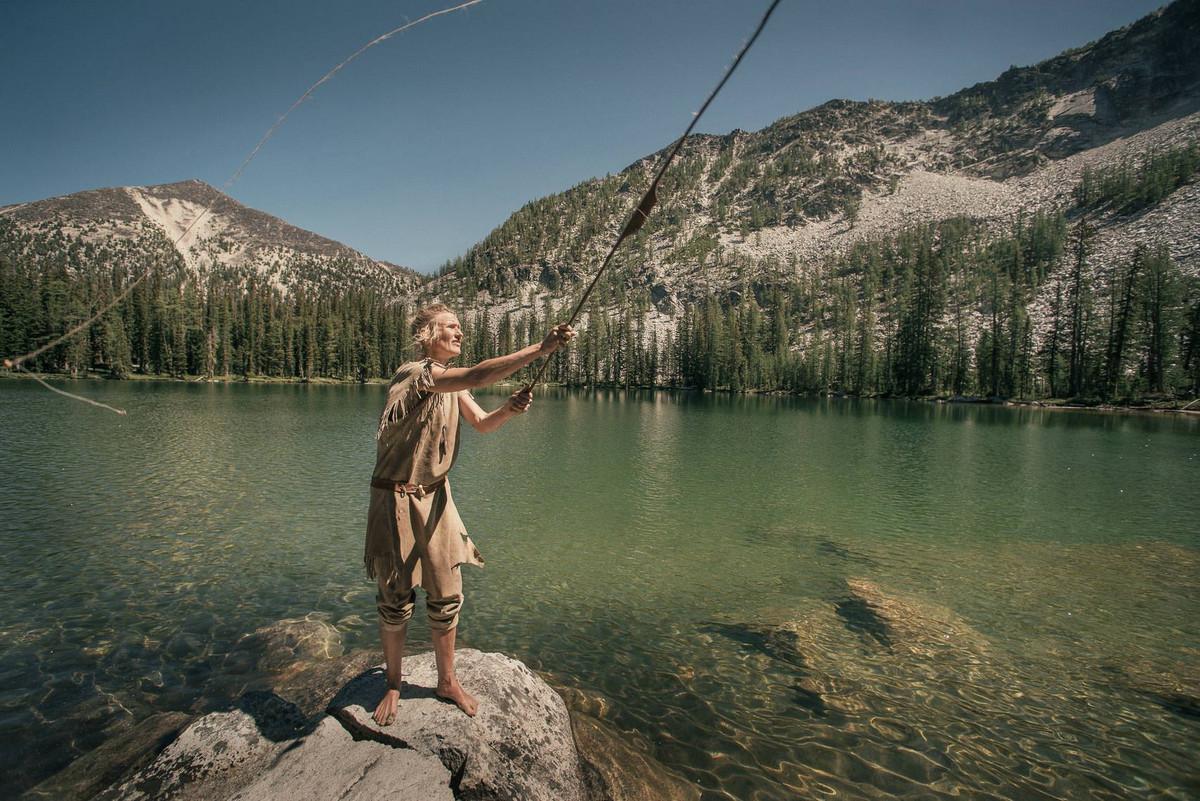 Назад в палеолит: охотники-собиратели 21-го века в фотопроекте «Живущие дикими» 11