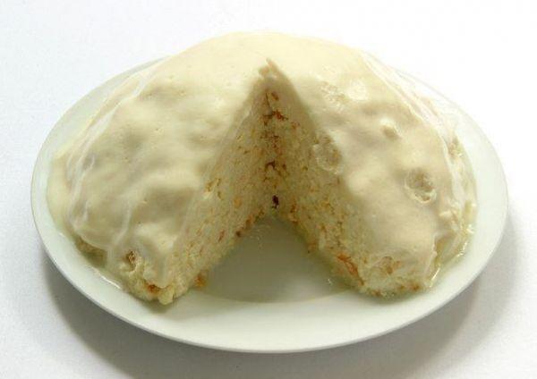 Молочный тортик без выпечки.…