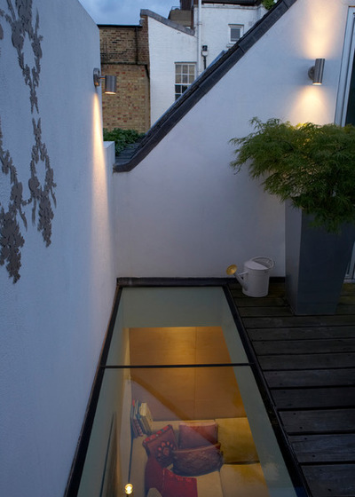 Современный Терраса by London Garden Designer