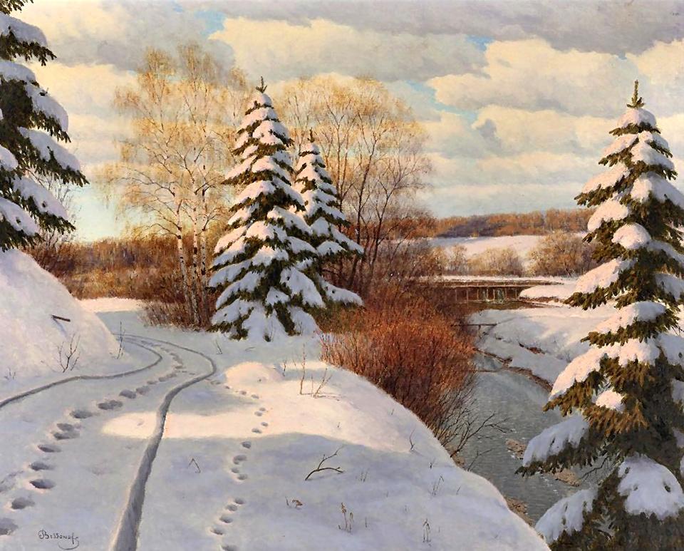 красивые рисунки художников русских что приходит мысли