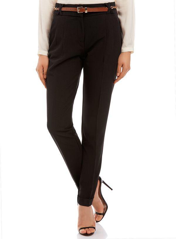 шпильки с классическими брюками