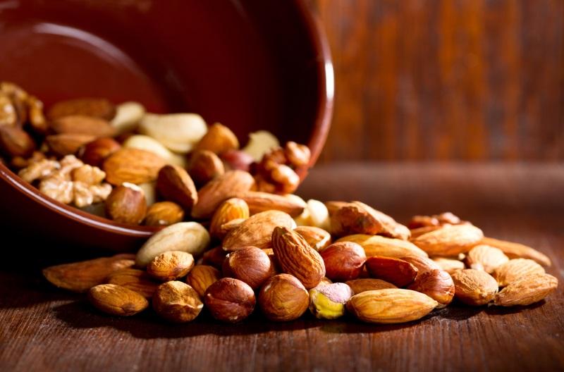 польза орехов миндаля