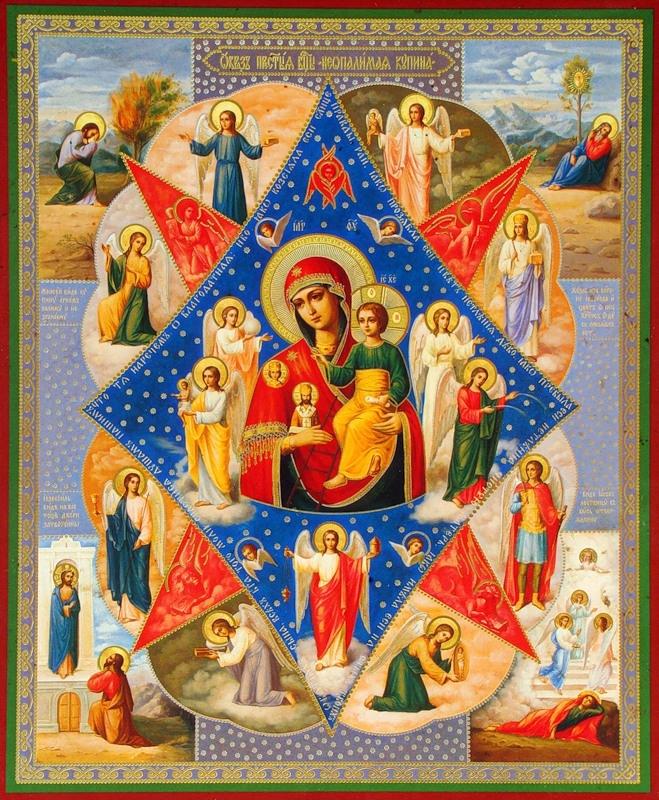 Икона Божией Матери «Неопалимая Купина»