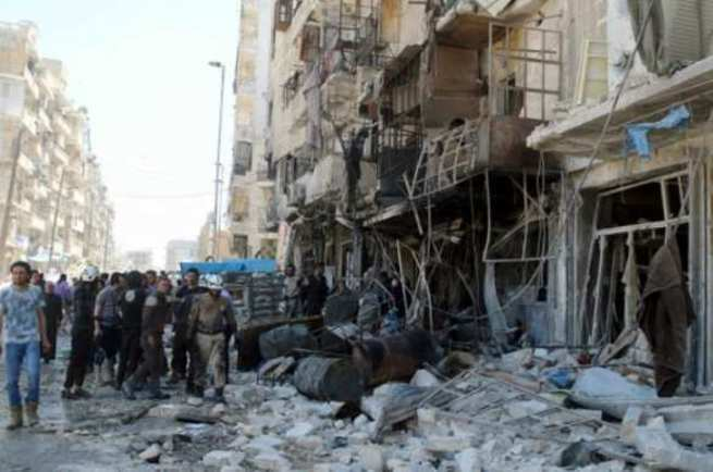 В Восточном Алеппо, в подвал…