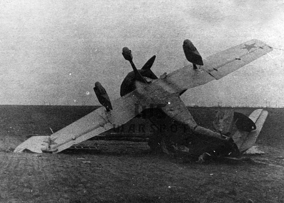 Несмотря на серьёзные повреждения, автожир позже восстановили - Летающие глаза артиллерии | Warspot.ru