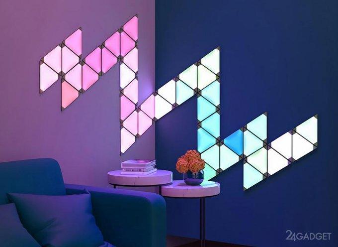Xiaomi представила умную световую панель, реагирующую на окружающие звуки