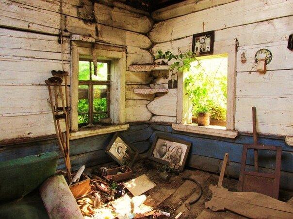 Фотографии в старых домах, как немые свидетели прошлых надежд Истории из жизни,отношения,эту страну не победить