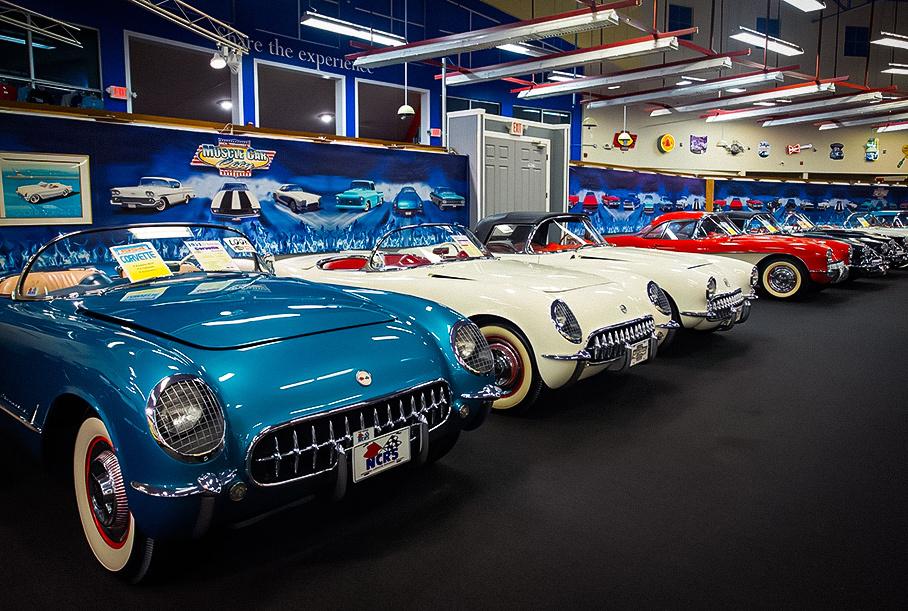 На торги выставили целый музей масл-каров вместе с 200 машинами Новости