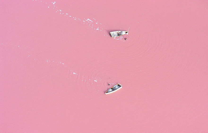 Самые красочные озера планеты