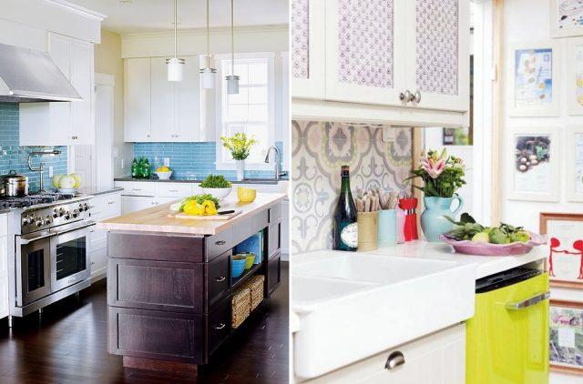 Кухонный фартук. Фото 17 различный идей