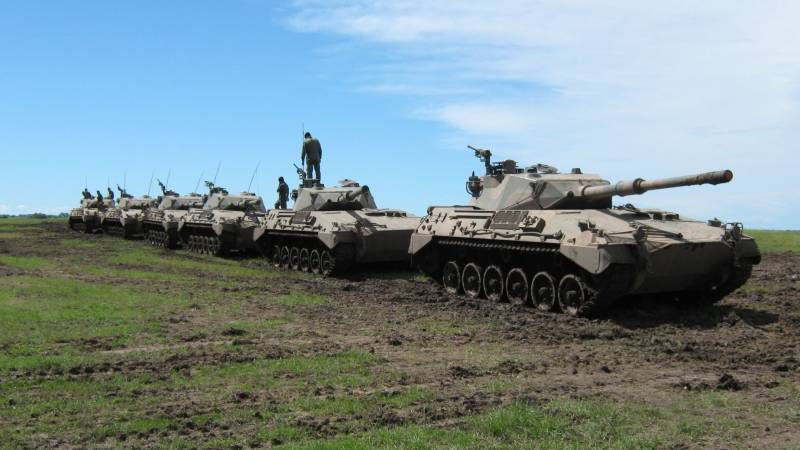 Армия Аргентины: от Фолклендов к упадку