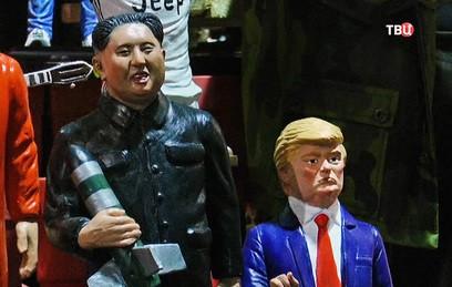 В Италии распродают рождественские фигурки с Путиным, Трампом и Ким Чен Ыном