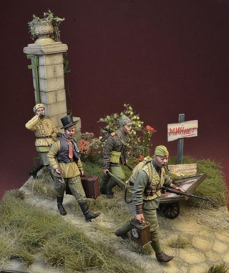 Западная компания выпустила набор советских солдатиков-мародеров. в мире,интересное,Солдатики