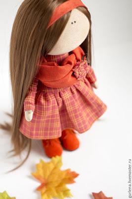 Куколка малышка. Мастер класс