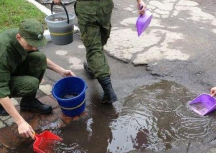 Странные вещи, которые нужно делать в армии