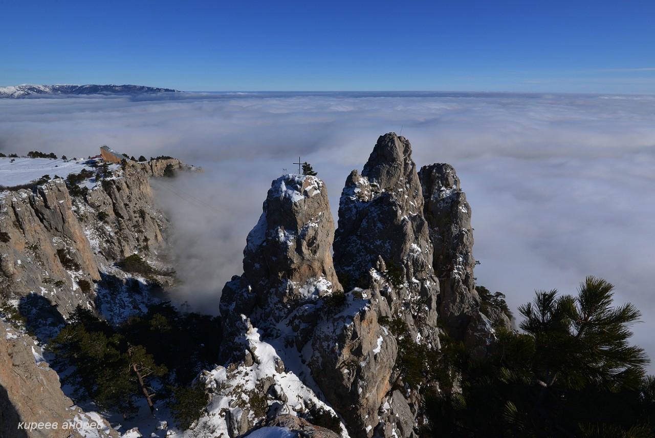 Выше облаков: Зима на Ай-Петри