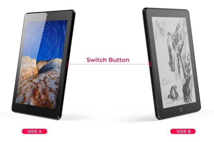 Планшет Eewrite Janus с двумя экранами  вскоре будет доступен для предзаказа по цене 9 новости,обсуждение,планшет,статья