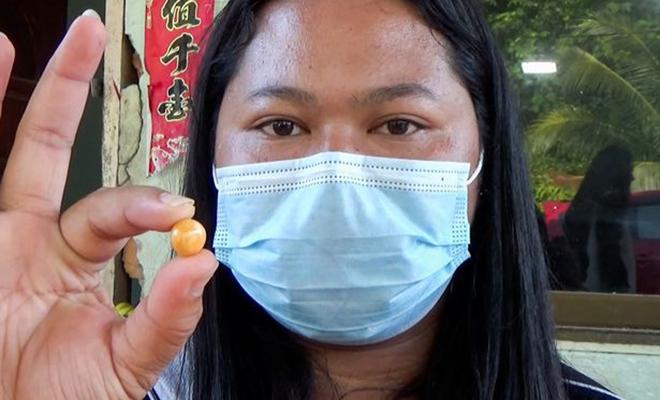 Женщина в Таиланде заказала ракушек на ужин и в одной из них нашла жемчужину Культура