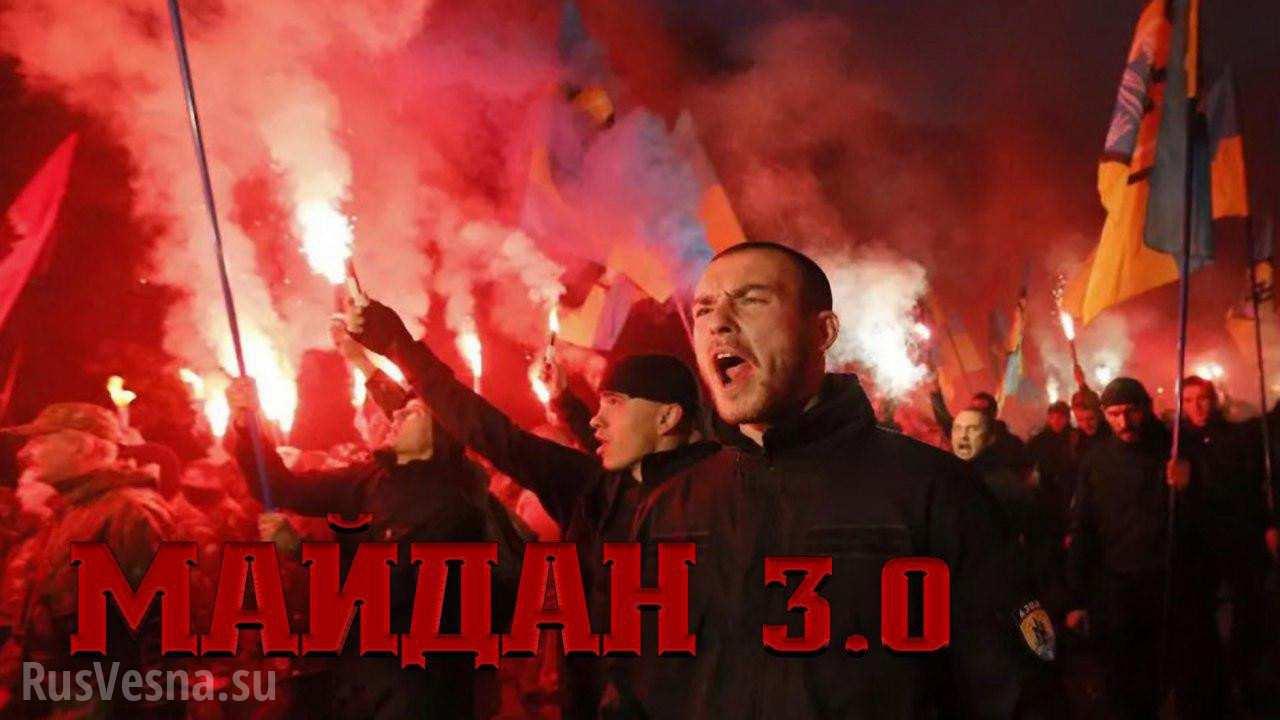 Майдан 3.0 и макаки с гранат…